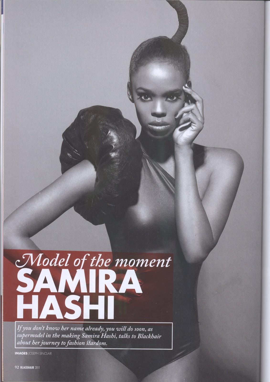The MAD Experience: Samira Hashi: Black Hair magazine