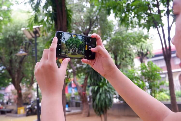 Realme 3 Pro Camera Interface