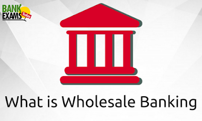What is Wholesale Banking