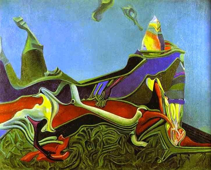 Paisagem com Gérmen de Trigo - O Surrealismo de Max Ernst | Alemão