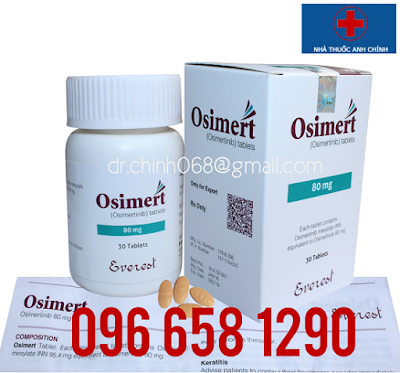 Osimert 80mg điều trị ung thư phổi