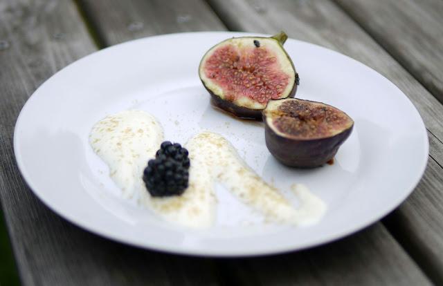 Gegrillte Feigen | Rezept | Grillen | Dessert | Essen