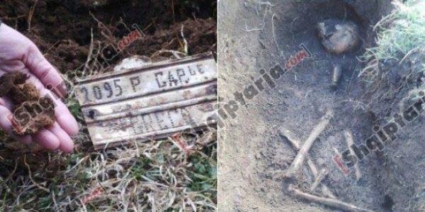 First bones of Greek soldiers fallen in WWII revealed in Tepelena