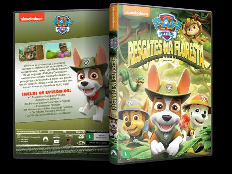 Capa DVD Paw Patrol: Resgates na Floresta [Custom]