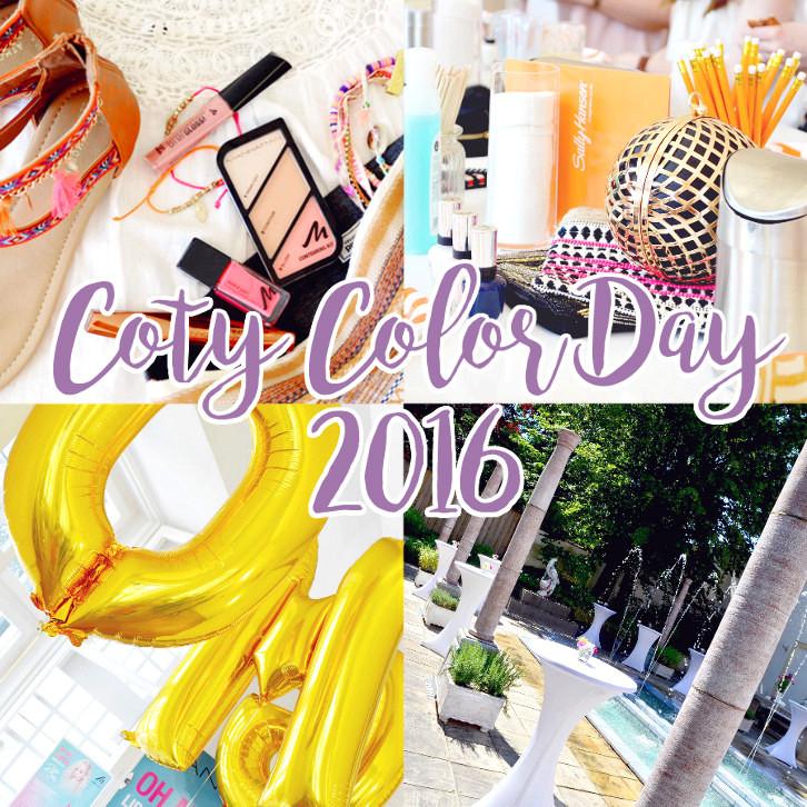 Mein Bericht zum Coty Color Day 2016 in München.