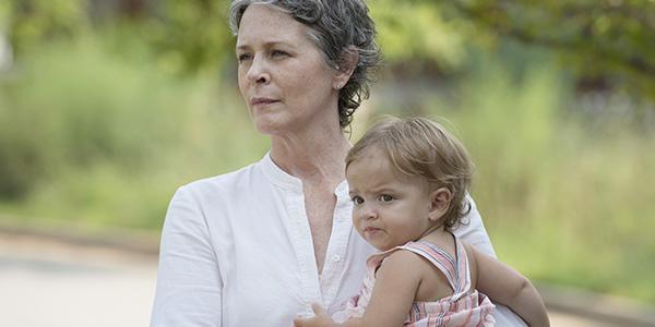 Carol y Judith en el 6x07 de 'The Walking Dead'