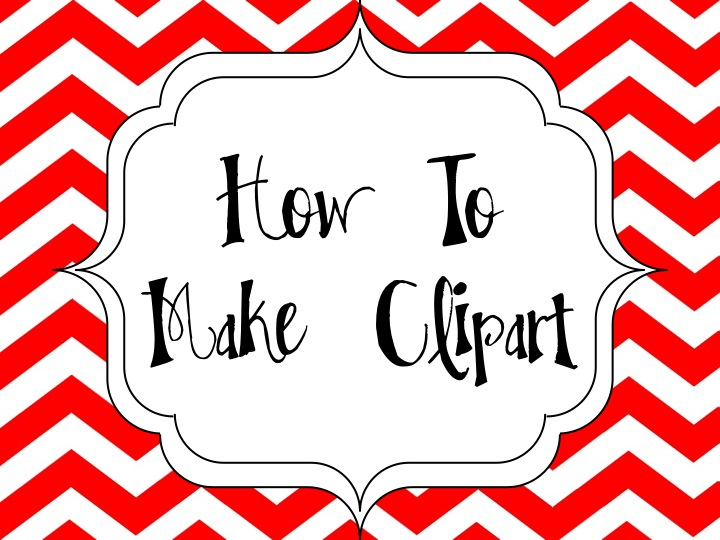 How I Make Clipart on My iPad - Surfing to Success