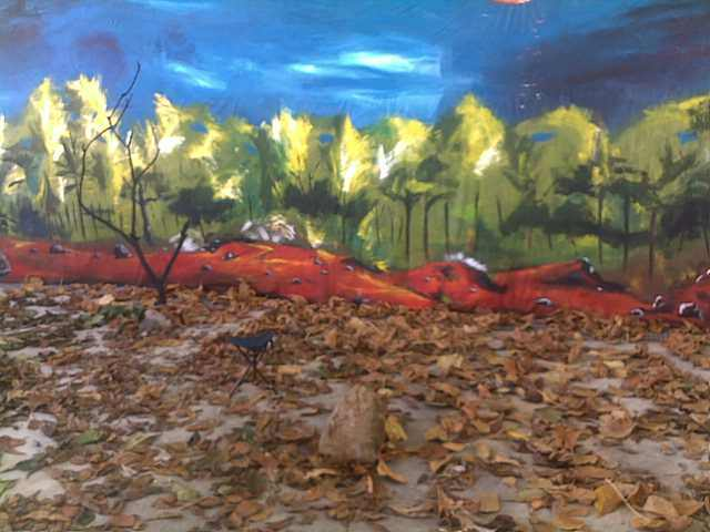 Peinture Pour Toile Decors Scene