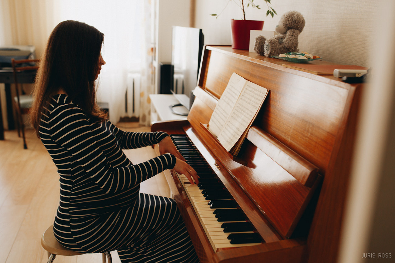 klaviermūzika grūtniecības laikā
