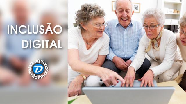Inclusão digital para idosos