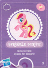 My Little Pony Wave 3 Sprinkle Stripe Blind Bag Card
