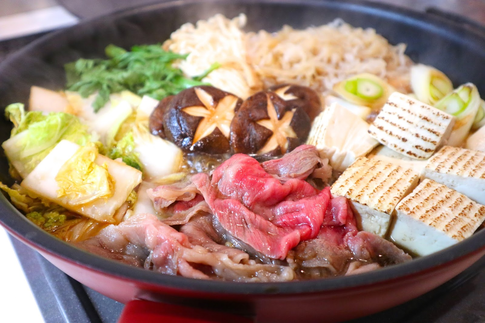 てっちゃんちのおいしい献立 大好きな近江牛ですき焼き&実家へ