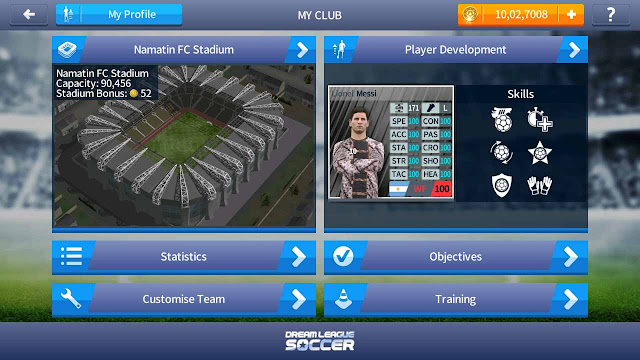 cara cheat dream league soccer 2017