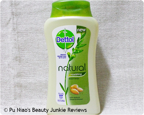 Dettol Natural Nourishing Body Wash Olive Almond