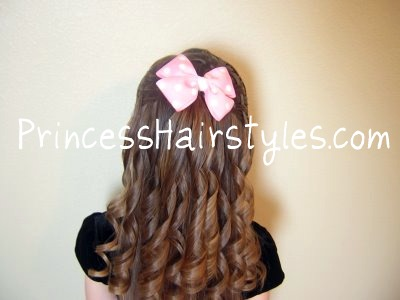 Peachy Curling Iron Ringlets Hairstyles For Girls Princess Hairstyles Hairstyles For Women Draintrainus