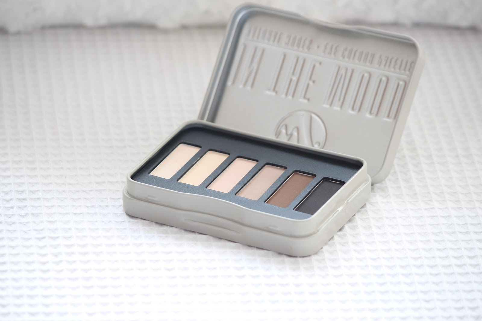 Currently Loving W7 Naked basics eye shadow dupe palette review