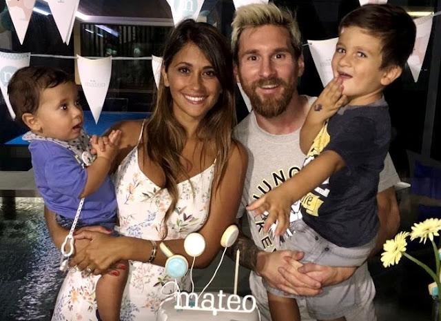 Kisah Cinta Lionel Messi dan Antonella Roccuzzo