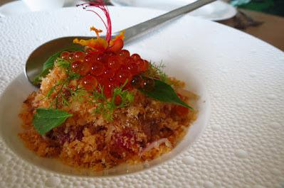 Bangkok, Paste, watermelon ground salmon salad