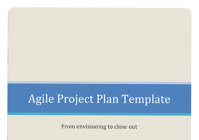 Agile Project Plan Template  for word