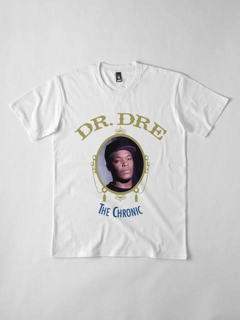 DR DRE - THE CHRONIC ALBUM TSHIRT