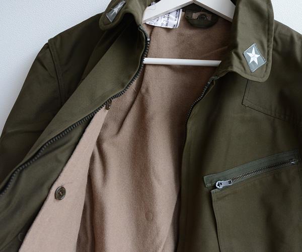 デッドストック80sイタリア軍A.M.Iミリタリーフィールドジャケット