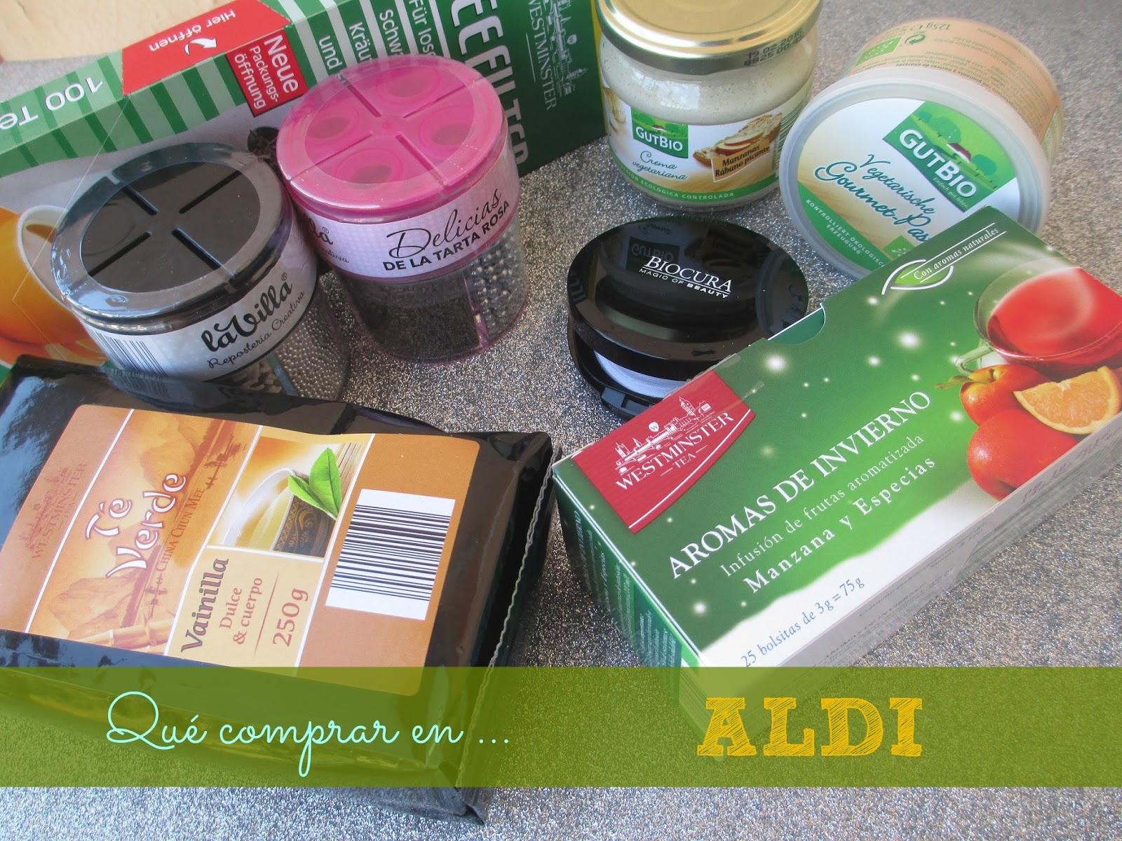 Qué comprar en ALDI