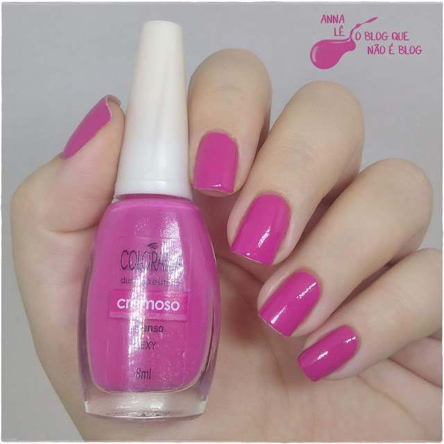 Sexy Colorama Esmalte Nailpolish Rosa Pink