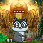 G4K Cute Raccoon Escape G…