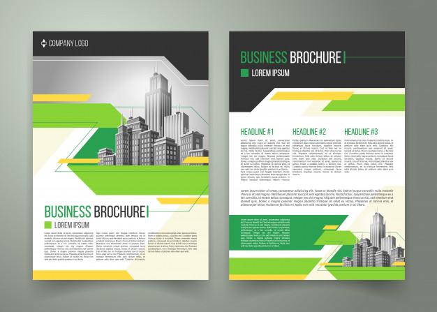 Template Brosur Dan Flyer Bisnis Terbaru CorelDRAW PUSFORMASI