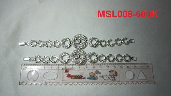 www.trangsuc.top - Lắc tay đính đá trắng cao cấp MSL008 - Giá: 600,000 VNĐ - Liên hệ mua hàng: 0906846366(Mr.Giang)