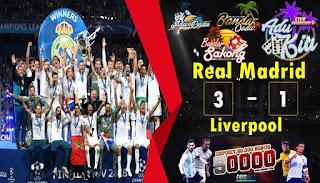 real madrid 3-1 liverpool final liga champions 27 mei 2018