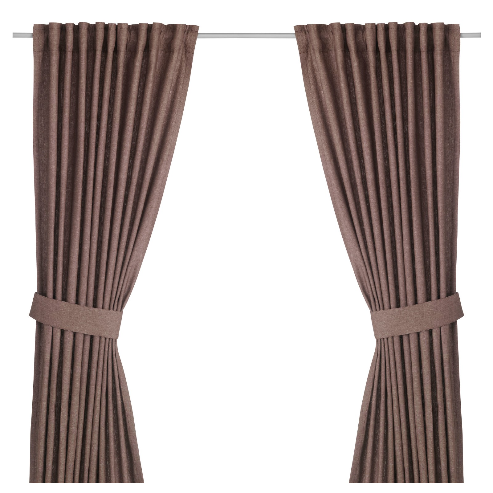 Curtain Rod Tension That Hangs From Ceiling Tie Backs Track System