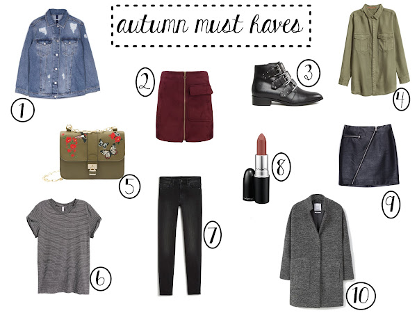 Today's Shopping Picks #2 - autumn must haves