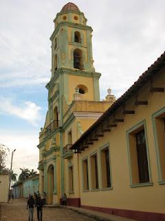 La antigua Iglesia y Convento de San Francisco