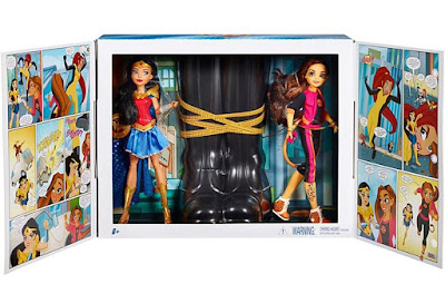 San Diego Comic-Con 2017 Exclusive DC Super Hero Girls Wonder Woman & Cheetah Action Dolls Set by Mattel