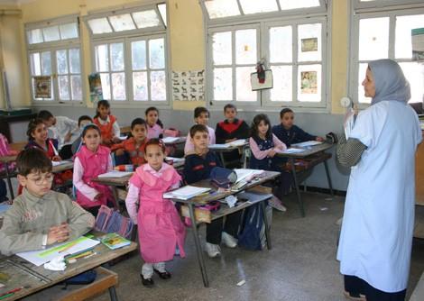 برنامج الإختبارات للإتحاق برتبة أستاذ مدرسة إبتدائية (مسابقة على أساس الإختبارات)