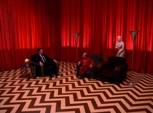 twin peaks, the red room, little man from another place, dale cooper