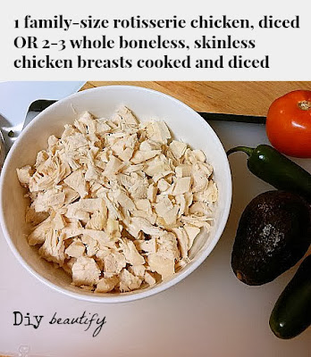 use meat from rotisserie chicken