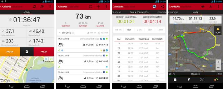 Runtastic Road Bike PRO v2.2 APK