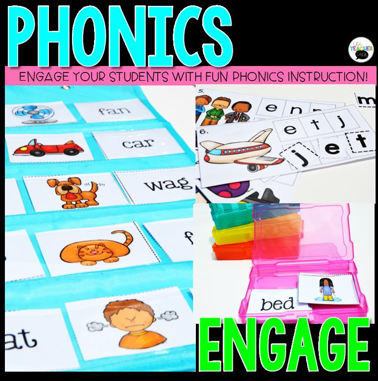 Phonics In First Grade The Teacher Talk