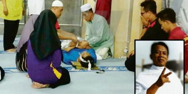 Innalillahi, Penghulu Terbaik Di Malaysia Meninggal Setelah Melakukan Ini