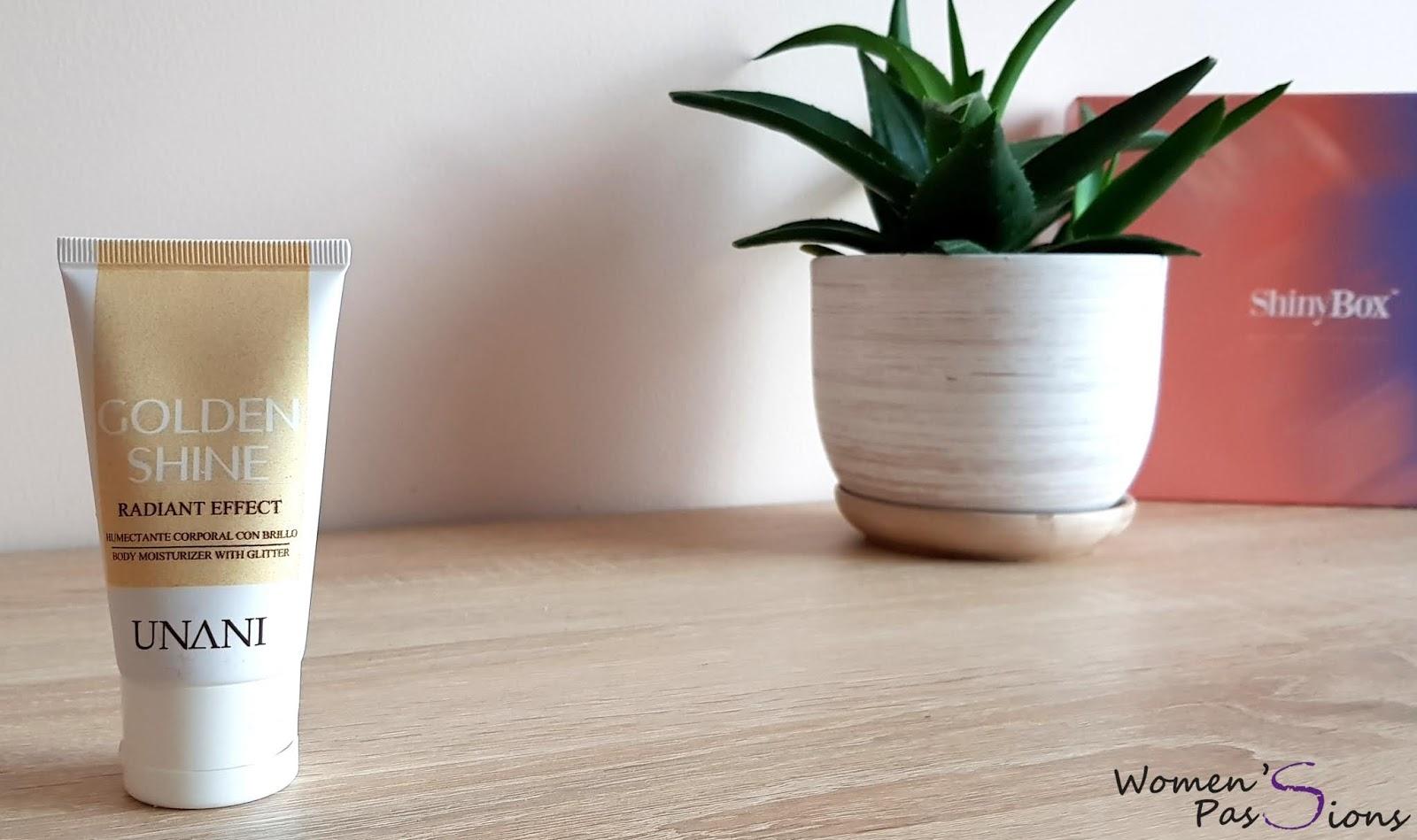 Unani Jedwabiste mleczko do ciała z drobinkami