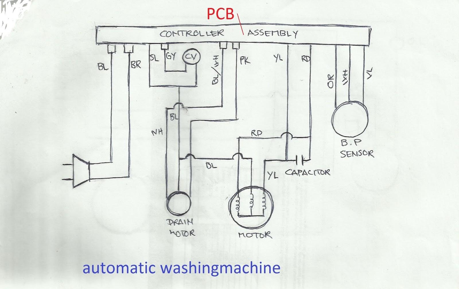 washine refrigeration and air conditioning repair wiring diagram of fridge wiring diagram manual at cita  [ 1600 x 1007 Pixel ]