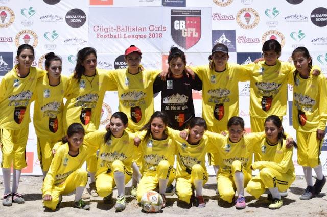 FLAVA Sponsors Gilgit-Baltistan Girls Football League 2018