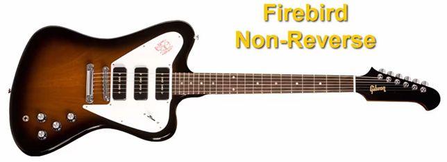 """Forma de la Guitarra Gibson Firebird """"non-reverse"""""""