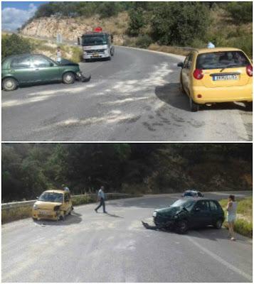 Τροχαίο ατύχημα στα Σύβοτα (+ΦΩΤΟ)