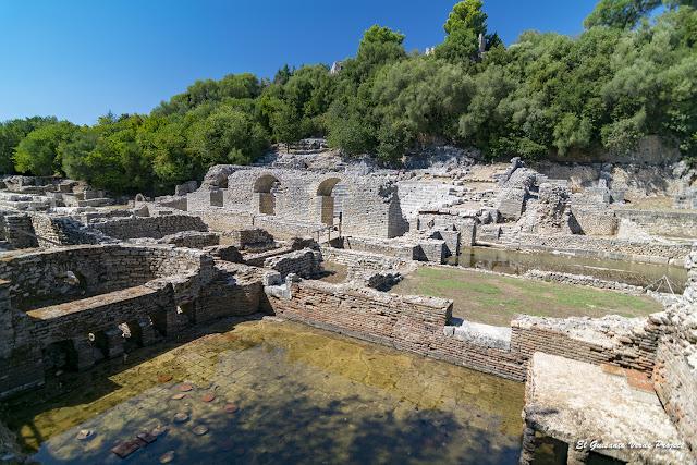 Termas Romanas de Butrint - Albania por El Guisante Verde Project