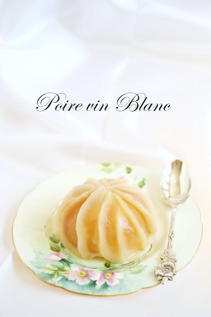 yue 39 s handicrafts barcelona a recipe for poire vin blanc. Black Bedroom Furniture Sets. Home Design Ideas