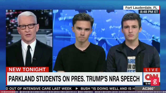 Hogg: Trump 'Scared' of My Support and the 'Support We'll Have in the Midterms'.