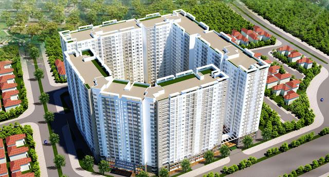 Nhà ở xã hội HOPE RESIDENCE Phúc Đồng có quần thể căn hộ chung cư hiện đại và tiện nghi